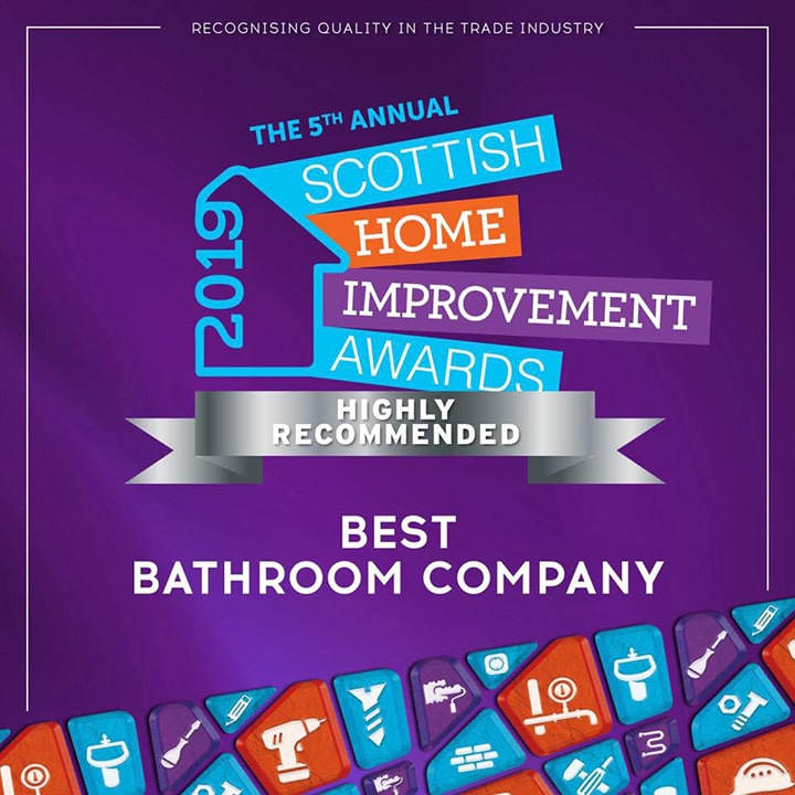 christian andrews interiors - winners of best bathroom company at the scottish home improvement awards