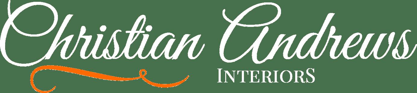 christian andrews interiors paisley logo in white